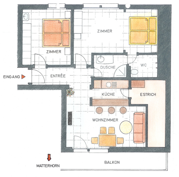 Perfect Map Apartment